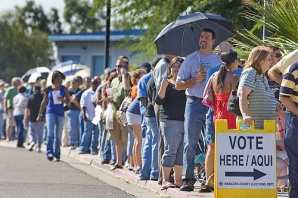 Online Voting can make long lines and low turnout obsolete.